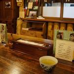 寿美久 - 座ったテーブルからの店内(2013.7.24)