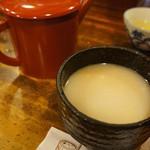 寿美久 - 濃厚蕎麦湯(2013.7.24)