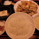 美叙飯店 - 八宝菜定食480円