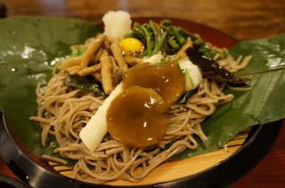寿美久 - ほうば山菜蕎麦(2013.7.24)