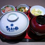 ひょっとこや - 鰻肝焼き丼(1500円)