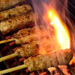 串虎 - 料理写真:串虎自慢のつくね