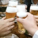 じとっこ組合 金山店 - トリビーで乾杯・宴会の始まりです