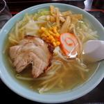 塩苅食堂 - 2013年7月26日(金) 塩ラーメン(650円)