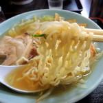 塩苅食堂 - 2013年7月26日(金) 塩ラーメン(650円) 自家製麺