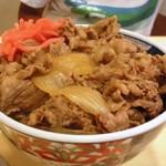 天下一品 - 単品の牛丼は450円
