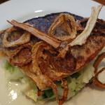 サン マルタン - 鯛のポワレ