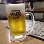 今成 - 生ビール!