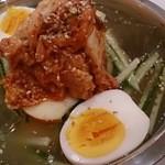 鶏魂 - 韓国冷麺  〆にさっぱりでした