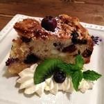コトリコーヒー - ブルーベリーとクリームチーズのマフィンケーキ