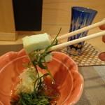 日本料理 空海 - うぐいす豆腐、おかひじき