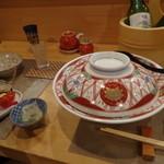 日本料理 空海 - 煮つけの大皿