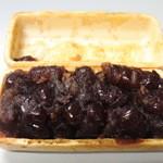 和菓子処 四代目 松川 - 丹波大納言小豆は身割れなくふっくら炊き上がり(^^)♪