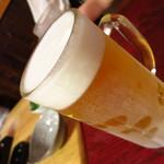 だいわ - 生ビール(サッポロ)500円