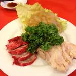 上海菜館 - 三種類前菜の盛合せ(¥ 1,500)