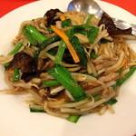 上海菜館 - もやしと豚肉の炒め
