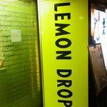 レモンドロップ - 店頭の看板