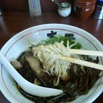 麺の春雪 - 麺アップ