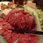 沢内銀河高原ホテル - 料理写真:前沢牛しゃぶしゃぶ