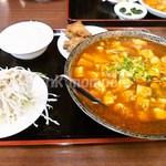 紅四季 - 麻婆麺セット¥800
