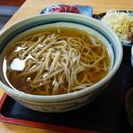 たぬき庵 - そば(冷かけ)