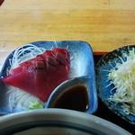 たぬき庵 - 鰹刺身