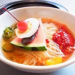 大門 - 冷麺(大辛)ビフォー