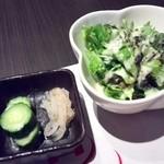 神戸牛 吉祥吉 - サラダがついてます。
