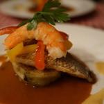 フランス料理遊心 - 真鯛のポワレ
