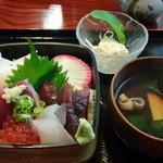 鯛八鮨 - 2013年7月 ランチの海鮮丼