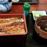 鯛八鮨 - 2013年7月 うな重(3,000円)