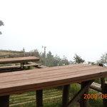 大山山頂茶屋 - 霧が無ければ見晴らしは良いはず!