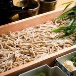 仁屋 - 〆はさっぱりと山形名物板蕎麦をどうぞ