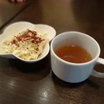 空とぶ子ブタ - サラダとスープ