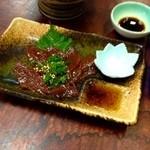 なる美寿司 - 馬刺し