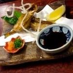なる美寿司 - 白ハタの唐揚げ