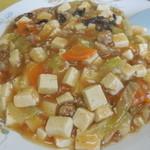 五十番 - 麻婆豆腐+ライス
