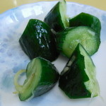 五十番 - 美味しかった胡瓜の漬物