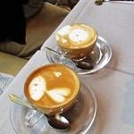 TreMonte - 再訪ランチ:カフェラテ