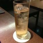 とんかつ まい泉 - 紀州南梅梅酒(ソーダ割り)