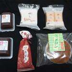 銘菓の老舗 あさ川 - 料理写真:連れて帰ってきた物達
