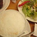 2032609 - カフェラテ、100円サラダ