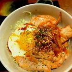 20320404 - トンテキ丼。