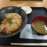 若松食堂 - 今日のづけ丼(みそ汁付):680円
