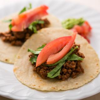 毎日作るオリジナル配合のコーントルティーヤはメキシコの香り
