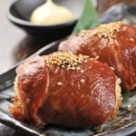 九州料理×もつ鍋 九州小町 - 肉巻おにぎり