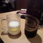 焼肉きんぐ - キリン瓶ビール中瓶