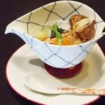 北浜 懐食 こおげ - 松茸と鱧の蒸し物