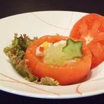 北浜 懐食 こおげ - 射込みトマト