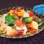 北浜 懐食 こおげ - 海鮮サラダ